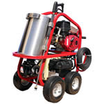 Professional Gas Hot Water Pressure Washers