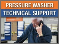 Pressure Washer Technical Support