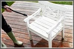 How to Power Wash Patio Furniture