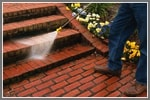 How to Pressure Wash Brick Patios and Walkways