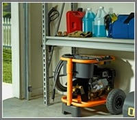 Pressure Washer Hibernation