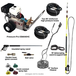 Business Kits Pressure-Pro Pressure Washers