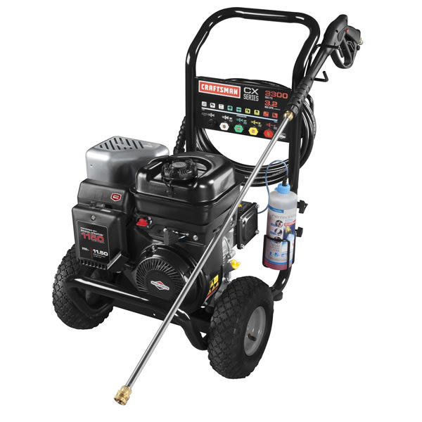 Craftsman CX Series 3300 PSI (Gas-Cold Water) Pressure Washer