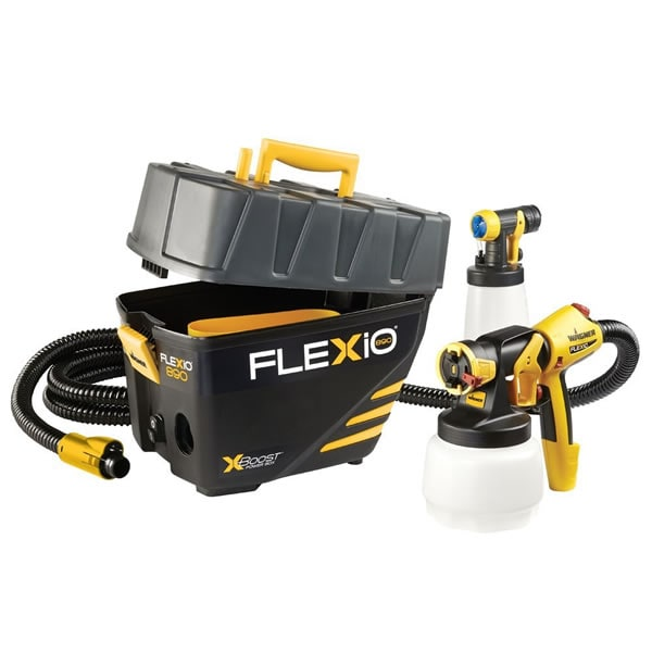 Wagner 0529021 FLEXiO 890 2-Nozzle Handheld Paint Sprayer Station