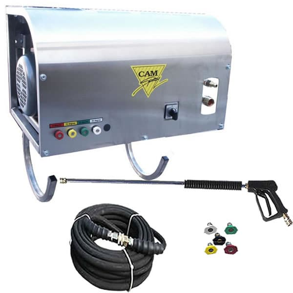 Cam Spray Professional 2000 PSI Wall Mount (Electric - Warm Water) Pressure Washer (208/230V 3-Phase)