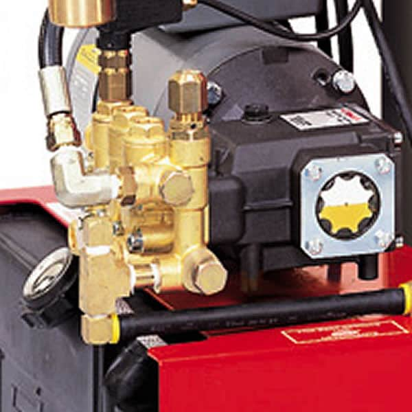 Hotsy triplex pump is covered by a 7 year Factory Warranty