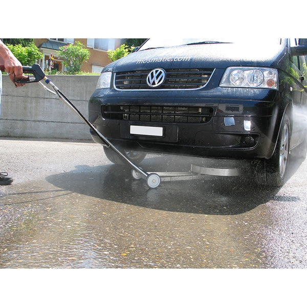 Extend vehicle life by washing salt & mud from the underbody