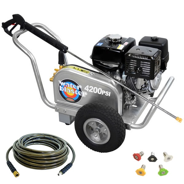 Simpson WaterBlaster Professional 4200 PSI (Gas - Cold Water) Belt-Drive Aluminum Frame Pressure Washer w/ Honda Engine