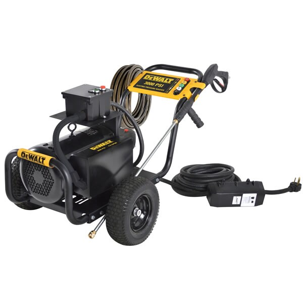 DeWalt Professional 3000 PSI (Electric - Cold Water) Pressure Washer w/ General Pump (208/230V 1-Phase)