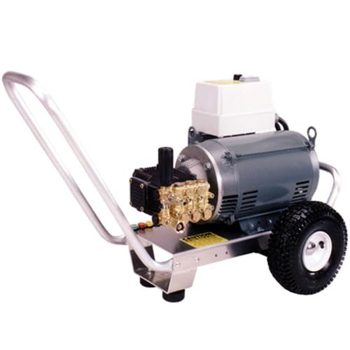 Pressure-Pro Professional 3000 PSI (Electric-Cold Water) Aluminum Frame Pressure Washer