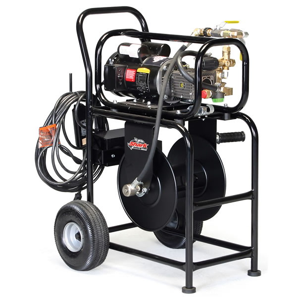 "Shark 1500 PSI Portable Electric Jetter w/ Roll Cart & Accessory Kit ""C"""