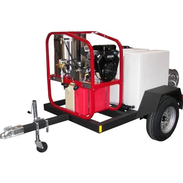 Tow-Behind Pressure Washer Trailer