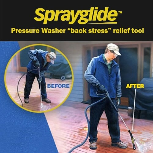 Gives you more even cleaning & less back strain