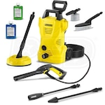 Karcher 1600 PSI (Electric - Cold Water) K2 CHK Pressure Washer w/ Car & Home Kit