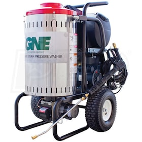 GNE Professional 2000 PSI (Electric - Hot Water) Pressure Washer w/ Steam & CAT Pump