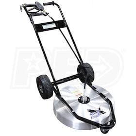 "Steel Eagle Professional Light Weight 24"" Surface Cleaner w/ Aluminum Deck"