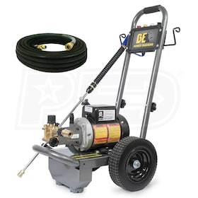 BE Professional 1100 PSI (Electric - Cold Water) Pressure Washer w/ AR Axial Pump