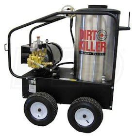 Dirt Killer Professional 3000 PSI (Electric-Hot Water) Pressure Washer (220V Single-Phase)
