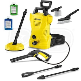 Karcher 1600 PSI (Electric - Cold Water) Pressure Washer w/ Car & Home Kit