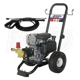 BE Prosumer 2500 PSI (Gas-Cold Water) Pressure Washer w/ Honda Engine