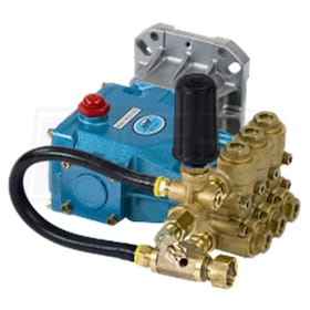 Pressure-Pro Fully Plumbed CAT 66 DX 4000 PSI 4 GPM Replacement Pump w/ Pulsar EZ Plumbing Kit