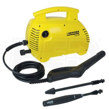 Karcher K2 93m R Reconditioned 1400 Psi Hand Carry