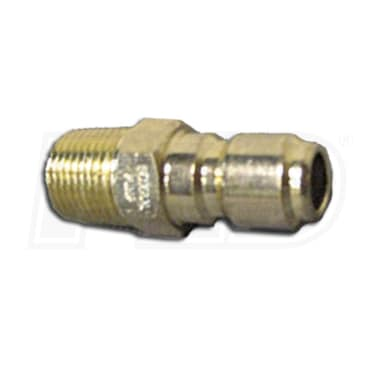 "AR 1/4"" Quick-Connect Plug (1/4"" Male End)"