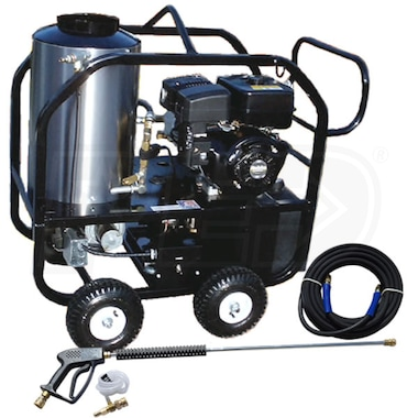 Pressure-Pro Professional Hot Shot 4000 PSI (Gas - Hot Water) Pressure Washer