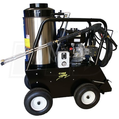 Cam Spray Professional 3000 PSI (Gas-Hot Water) 3 GPM Pressure Washer w/ Honda Engine
