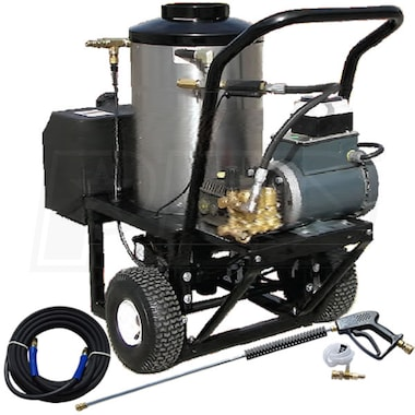 Pressure-Pro Professional 1500 PSI (Electric Hot-Water) Hot Shot Pressure Washer (115V 1-Phase)