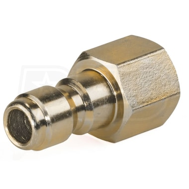 "Karcher 1/4"" Quick Connect Male Plug With 1/4"" NPT Female End Adapter"