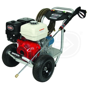 Simpson Professional 4200 PSI (Gas - Cold Water) Aluminum Frame Pressure Washer w/ Honda Engine & CAT Pump