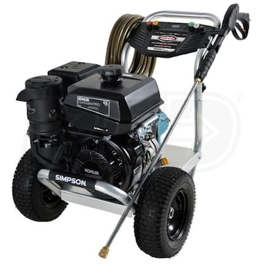 Simspon Professional 4000 PSI (Gas - Cold Water) Aluminum Frame Pressure Washer w/ CAT Pump