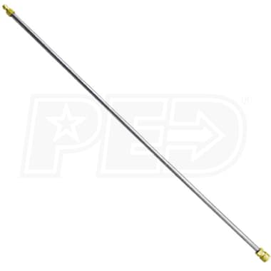 Pressure-Pro 84-Inch Aluminum Extension Lance w/ Quick Connects (Hot / Cold Water)