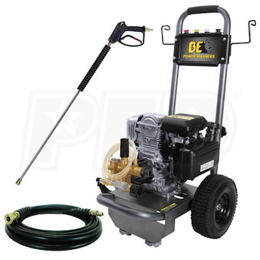BE 2700 PSI (Gas-Cold Water) Pressure Washer w/ Honda Engine