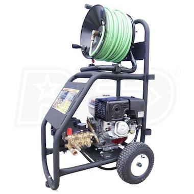 Cam Spray Professional 3500 PSI (Gas Cold-Water) Portable Jetter w/ Electric Start