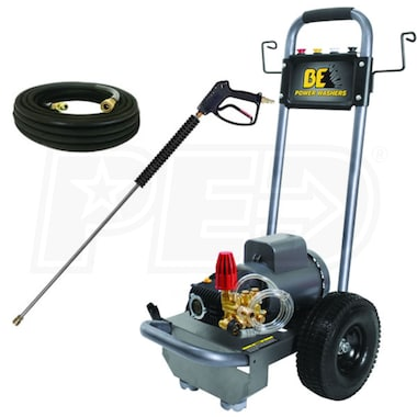 BE Professional 1100 PSI (Electric-Cold Water) Pressure Washer