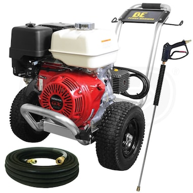 BE Professional 4000 PSI (Gas - Cold Water) Pressure Washer w/ Honda Engine