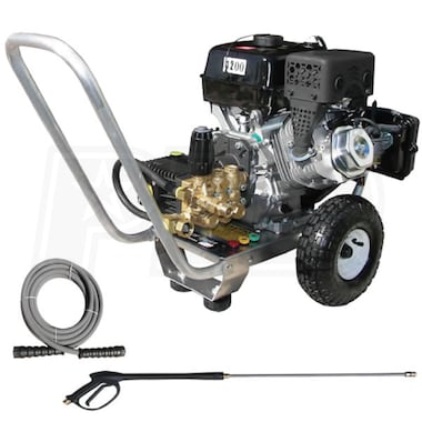 Pressure Pro Professional 4200 PSI (Gas Cold-Water) Aluminum Frame Pressure Washer