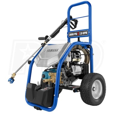 Yamaha Semi-Pro 3000 PSI (Gas - Cold Water) Pressure Washer w/ CAT Pump