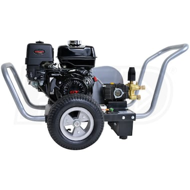 Simpson WaterBlaster Professional 3200 PSI (Gas-Cold Water) Belt-Drive Pressure Washer w/ Honda Engine