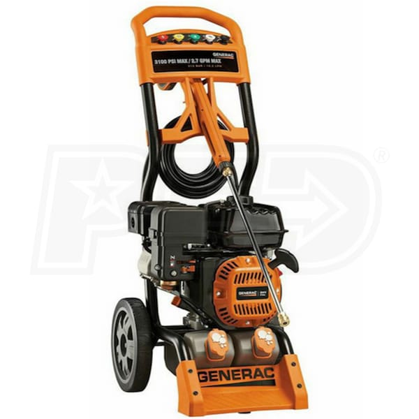 Generac 6598 3100 Psi Gas Cold Water Pressure Washer